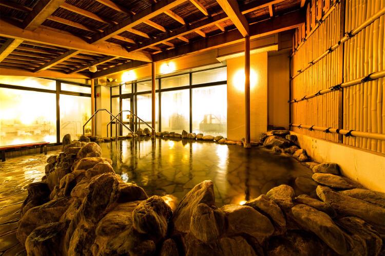 源泉の湯「古川温泉」